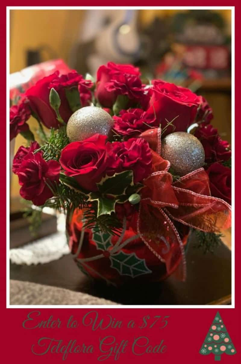 Enter for a chance to #win a $75 Teleflora Gift Card!