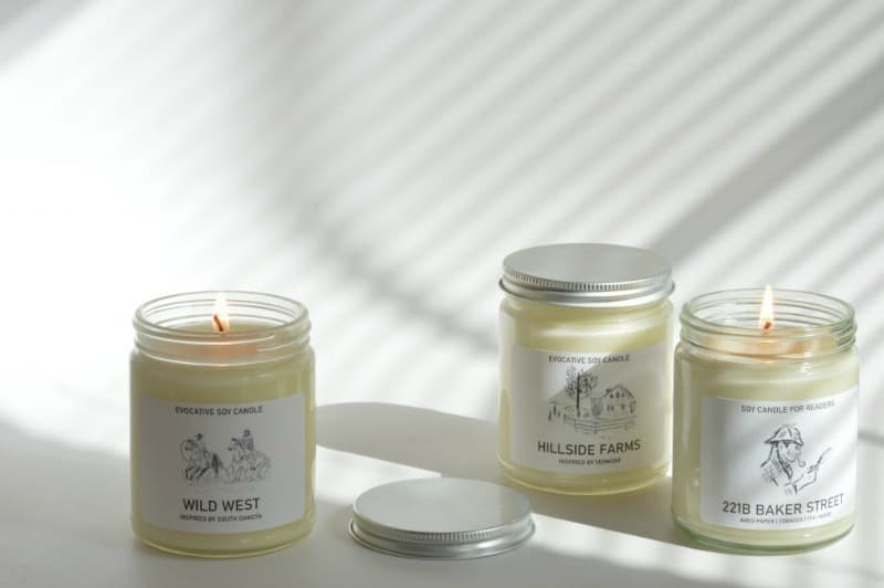 New Evocative Candle