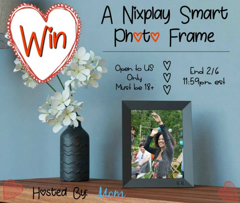 Have a ton of photos you want to display? Enter for a chance to win a Nixplay Smart Photo Frame!