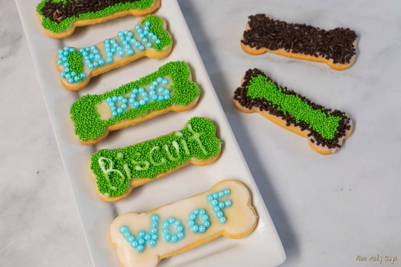 FUN April Fools Dog Treat Cookies