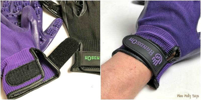 Hands On Gloves - adjustable wrist band