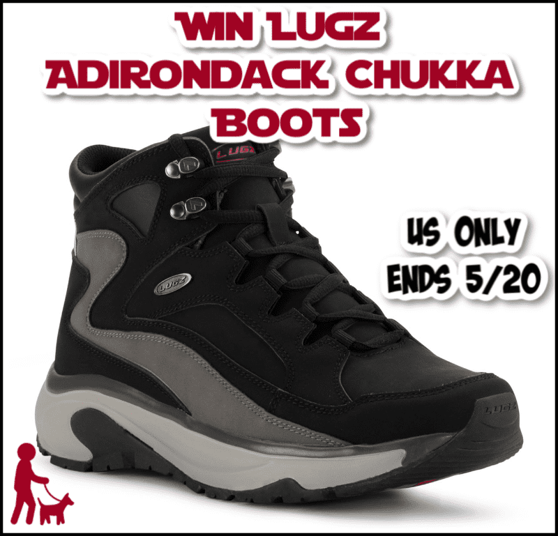 Who loves comfort AND style? Enter for a chance to #win a pair of Lugz Adirondack Chukka Boots!