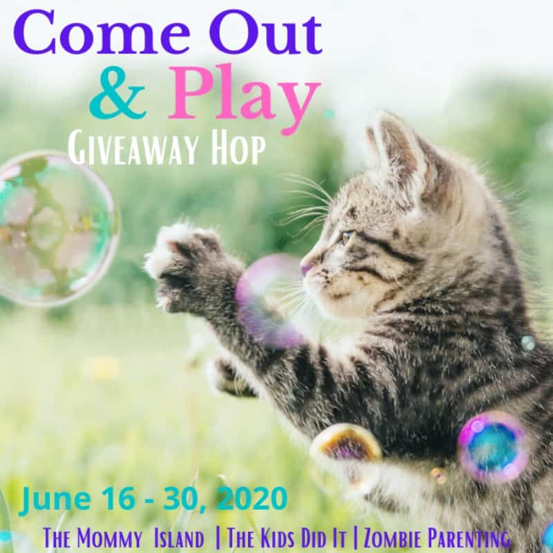 Come Out and Play Giveaway Hop giveaway