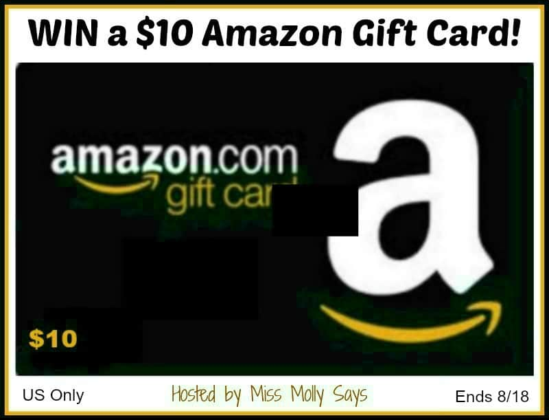 Who loves to shop Amazon? Silly question, right? Enter for a chance to #win a $10 Amazon Gift Card!