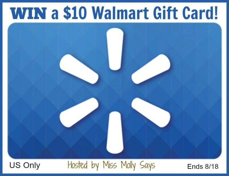 Need a little help with back to school supplies? Enter for a chance to #win a $10 Walmart Gift Card!