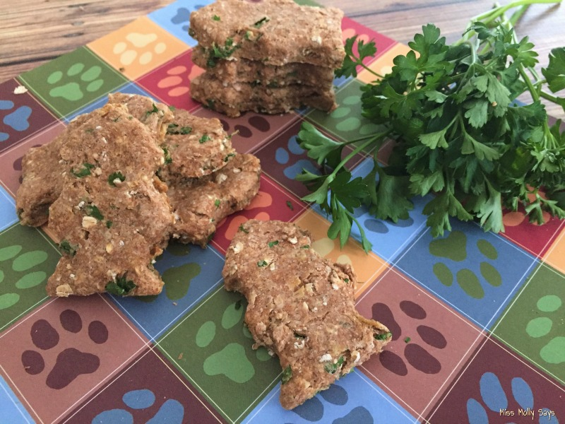 Chicken & Parsley Fresh Breath Dog Treats