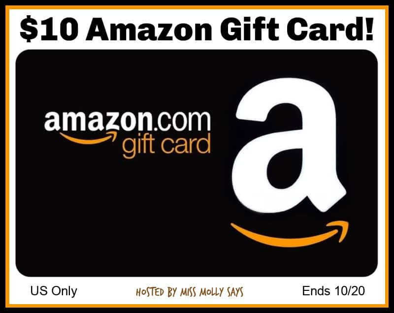 Enter for a chance to #win a $10 Amazon Gift Card in our fun Meowloween Giveaway Hop!