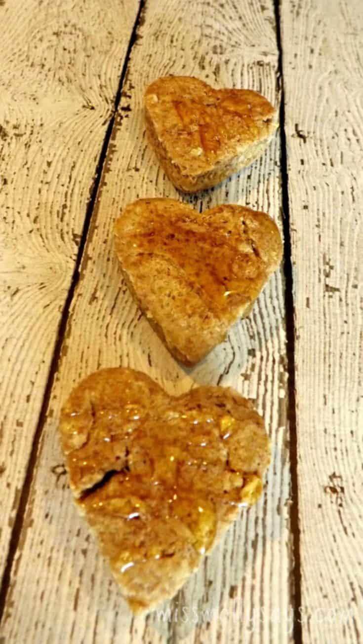 Valentine's Day 'You're My Honey' Dog Treats