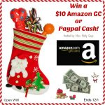 Enter for a chance to #win a $10 Amazon Gift Card OR Paypal Cash in our Super Stocking Giveaway Hop! Winner's Choice!