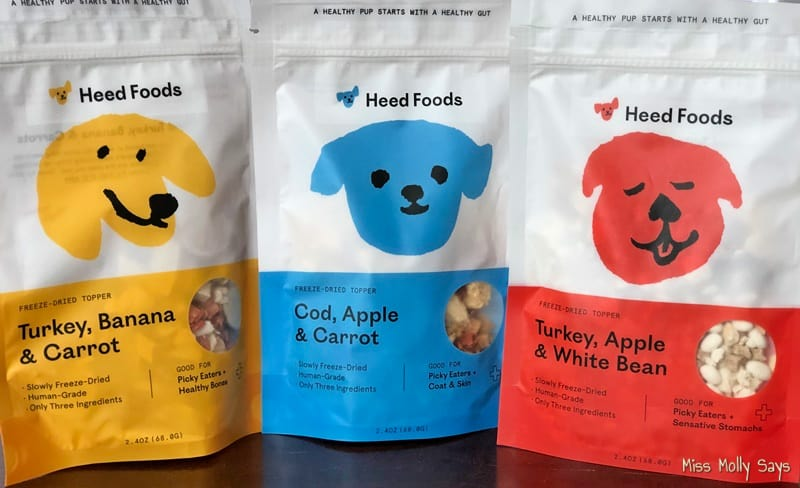 Heed Foods Freeze-Dried Toppers