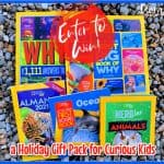 Enter for a chance to #win a National Geographic Kids Books Holiday Gift Pack for Curious Kids!