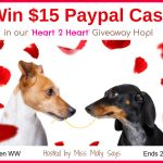 $15 Paypal Cash Giveaway button - Heart 2 Heart giveaway hop