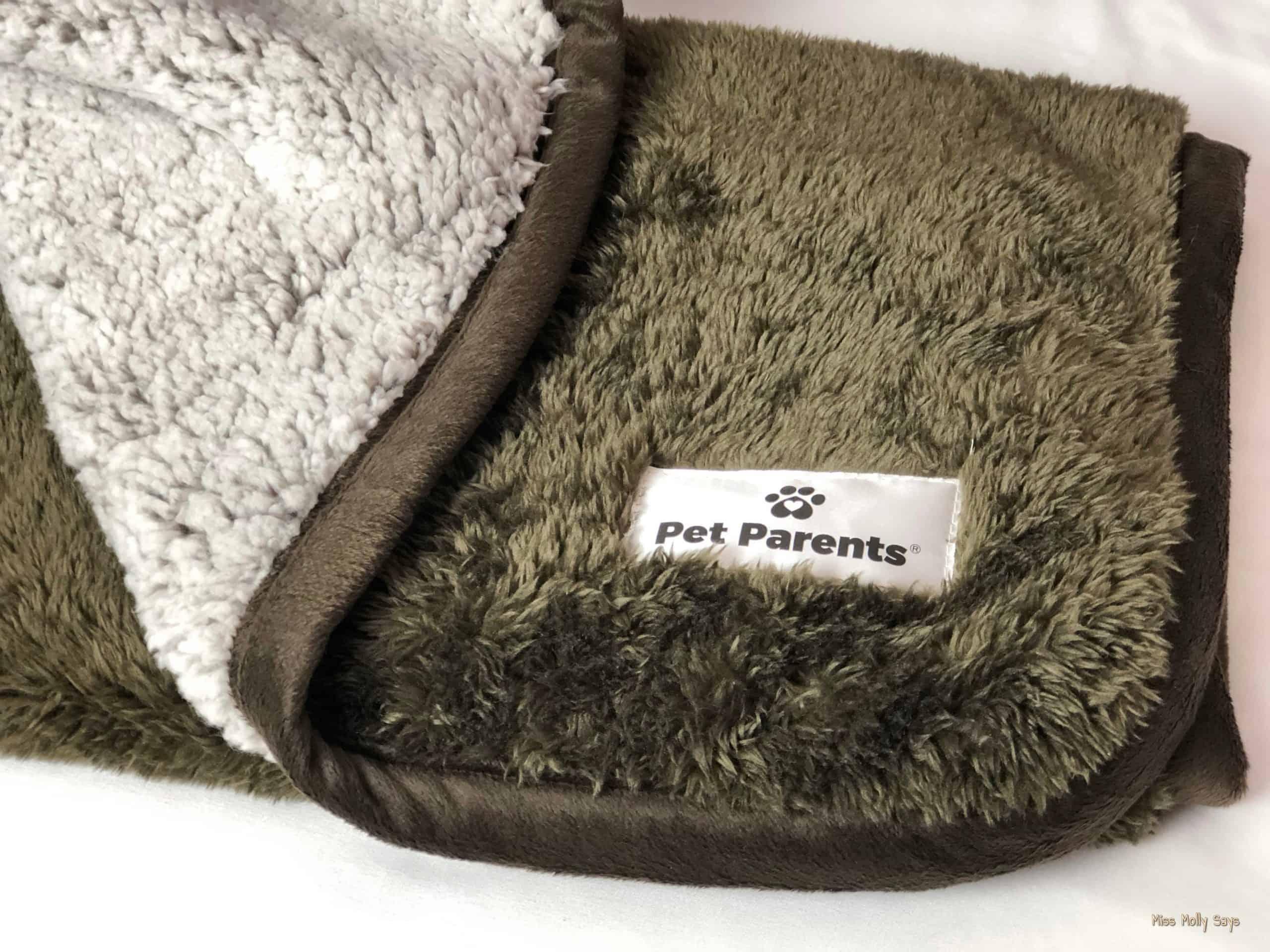 Brown Pet Parents Waterproof Pawtect Blanket