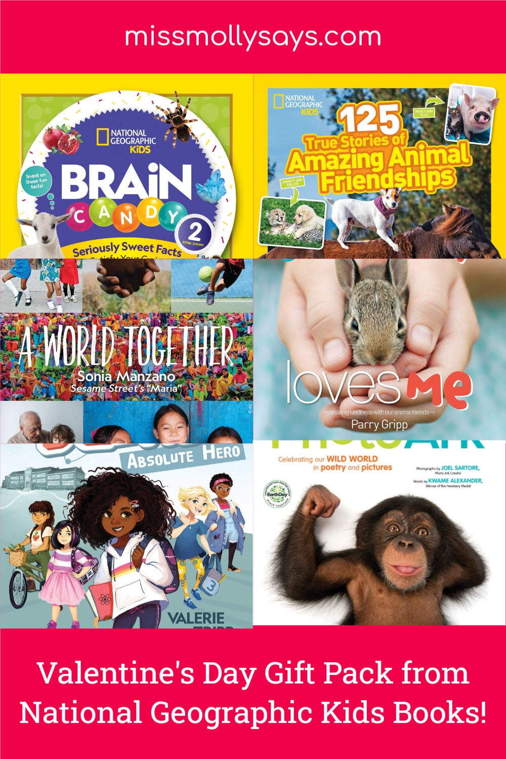National Geographic Kids Valentine's Day Gift Pack Giveaway!
