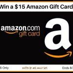 $15 Amazon Gift Card Giveaway