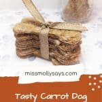 Healthy Carrot Dog Treats Your Pup Will Beg For