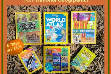 National Geographic Fall Favorites Grand Prize Pack